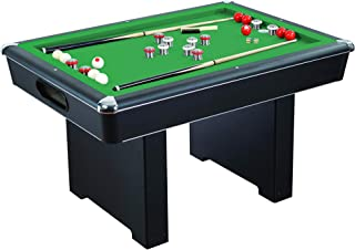 Hathaway Game Table with Pool, Glide Hockey, and Table Tennis for Family Game Rooms