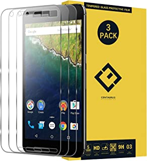 Screen Protector Replacement for Google Nexus 6P, (3 Pack) Ultra-Thin Anti-Fingerprint Anti-Scratch Clear Tempered Glass Protective Film Compatible with Google Huawei Nexus 6P H1511 H1512 5.7