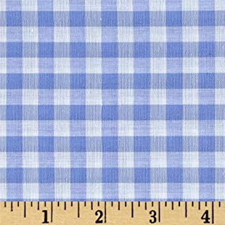 Richland Textiles Richcheck 60in Gingham Check 1/4in Blue Fabric By The Yard