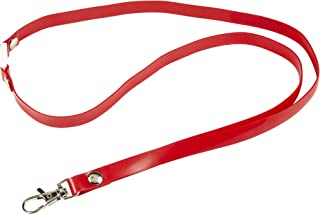 Rexel Id Soft Touch Lanyard Red