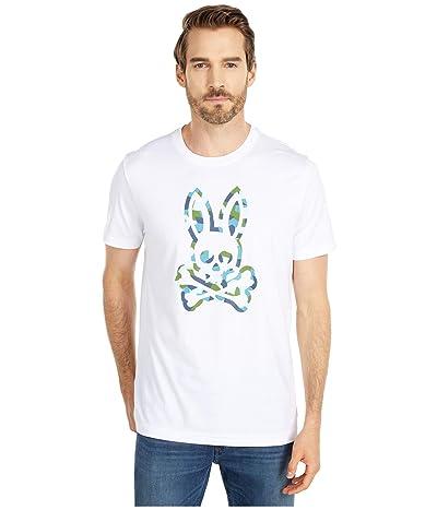 Psycho Bunny Patcham T-Shirt (White) Men