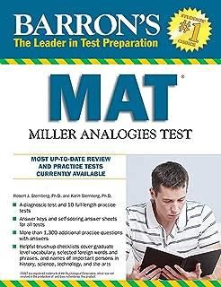 Barron's MAT, 11th Edition: Miller Analogies Test