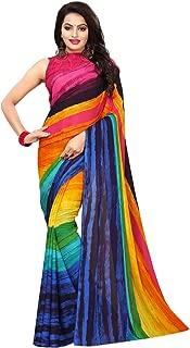 Kanchnar Women's Georgette Printed Saree