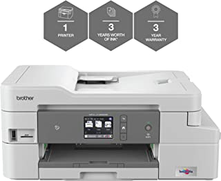 Brother MFC-J1300DW 'All in Box Bundle' Colour Inkjet Printer - All-in-One, Wireless/USB 2.0, Printer/Scanner/Copier/Fax M...