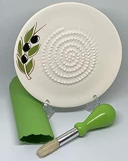 BonCera, Hand-Made Ceramic Grater (Porcelain) G-005
