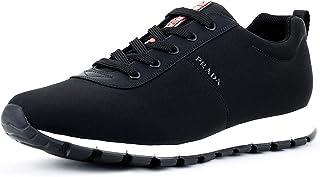 27e572fba0 Prada 4E3221 OQ6 F0002, Baskets Mode pour Homme Noir Black (Nero)