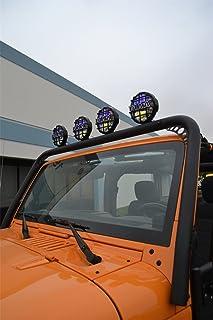 Body Armor 4x4 JK-6126Black Front Light Bar for 2007-2013 Jeep JK Wrangler