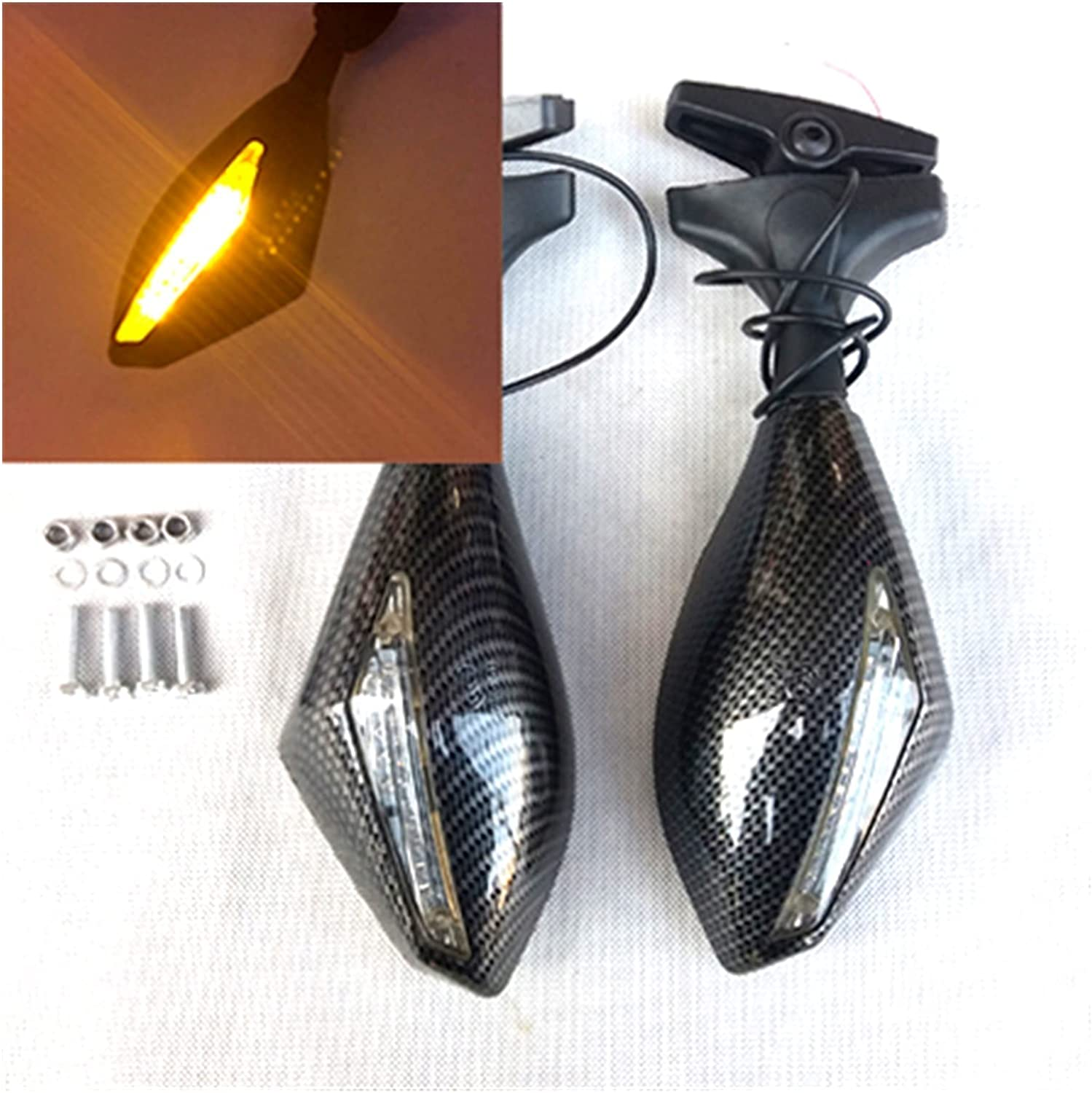 XHSK Max Colorado Springs Mall 74% OFF Motorcycle Rearview Mirror with for Honda Light Turning CBR