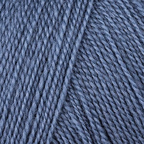 Debbie Bliss Rialto-Wolle. 11 x 11 x 6 cm Jeansblau