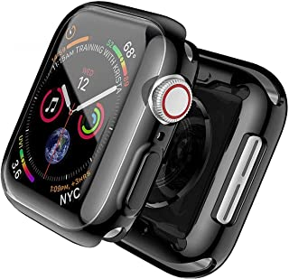 TERSELY[2 Pack] Case Overall Protector for Apple Watch Series 6/SE/5/4 40mm, Full Coverage Protection Bumper All-Around Su...