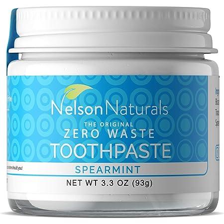 Nelson Naturals Spearmint Fluoride Free Toothpaste 3.3 oz