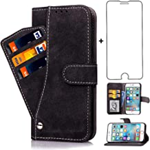 Asuwish iPhone 6 Plus/6S Plus Wallet Case,Leather Phone Cases with Screen Protector Tempered Glass Card Holder Slot Stand ...