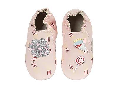 Robeez Dolce Soft Sole (Infant/Toddler) (Pink) Girl