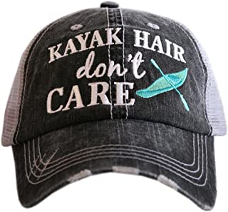 Kayak Hair Don't Care Baseball Hats Caps