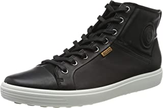 ECCO Footwear Womens Soft VII High Top Ankle Bootie Black