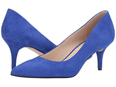 Nine West Margie Pump (Blue Iris) Women