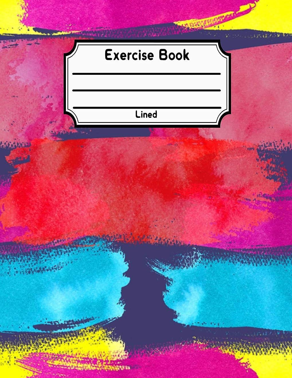 不当許可する役職Exercise Book Lined: Back To School Notebook V26