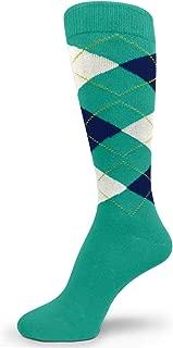 Elite Quality Colorful Soft Cotton Men's Groomsmen Wedding Argyle Dress Socks
