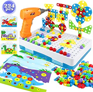 yoptote Juguetes Montessori Puzzles 3D Mosaicos Infantiles