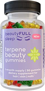 Terpene Beauty Gummy Supplement: Hair Skin Nails Vitamin