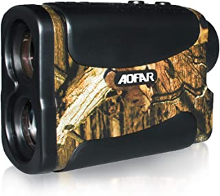 AOFAR Hunting Archery Range Finder-700 Yards Waterproof Laser Rangefinder for Bow Hunting with Range Scan Fog and Speed Mode, Free Battery, Carrying Case