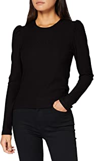 Only Onlemma L/S Puff Top Jrs Camiseta sin Mangas para Mujer