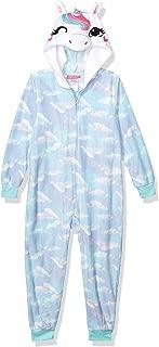 St. Eve Girls' Big Character Hooded Fleece Blanket Sleeper