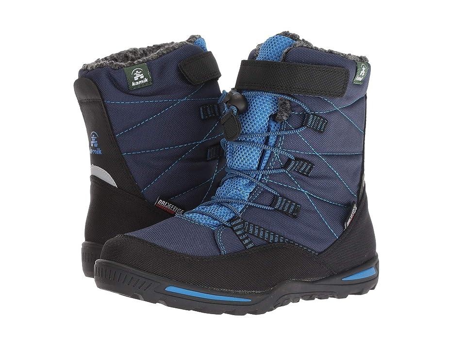 Kamik Kids Jace (Little Kid/Big Kid) (Navy/Blue) Boys Shoes