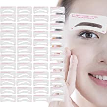 Eyebrow Stencil,Eyebrow Shaper Kit 24 Styles 3 Minutes Makeup Tools For Eyebrows..