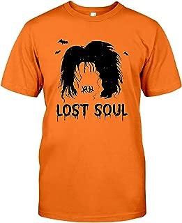Akimiva Halloween Lost Soul Billy Butcherson Raglan T Shirt Billy Butcherson Shirt