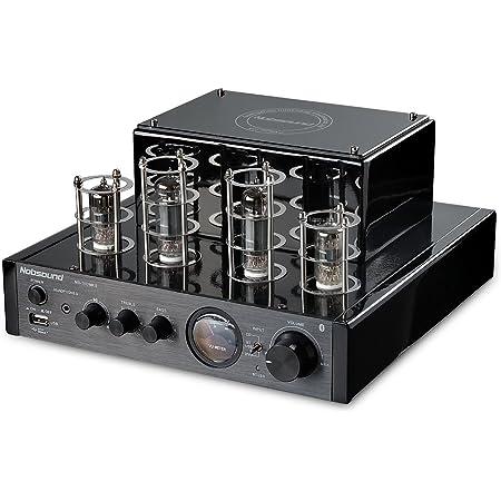 Nobsound MS-10D MKII Amplificateur à tube hybride avec Bluetooth/USB/casque pour Hifi (Noir)