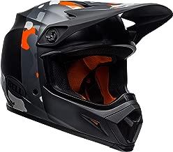 Bell MX-9 MIPS Off-Road Motorcycle Helmet (Presence Matte/Gloss Black Flo Orange Camo, X-Large)