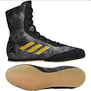 Adidas DA9897-14 Box Hog Plus Black/Gold - Size 14