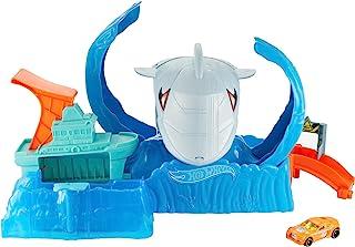 Hot Wheels City Color Changing Robot Shark Play Set Kids Ages, 3 and Older GJL12