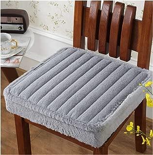 plummei Foam Fluffy Chair Cushion Home Textile Seat Pad Bay Window Cushion 4545Cm Thicken Seat Cushion Computer Chair,Zhitiaohui,Thicks About 5Cm