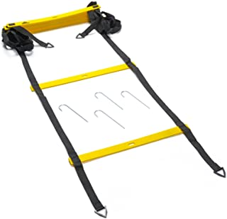 Black Mountain Products 可折叠弹性梯子,带手提包