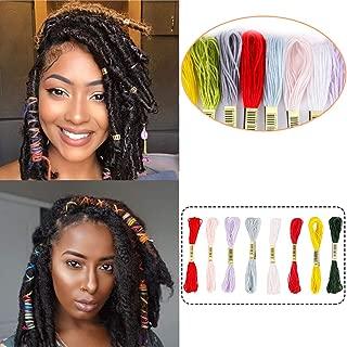 Miman Hair String For Braids Dreadlocks DIY Colorful Styling Hair Braiding Yarn Hair Strings for Hip-hop Hair Accessories