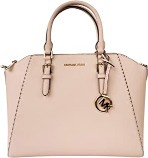 Michael Kors Large Ciara Saffiano leather Satchel