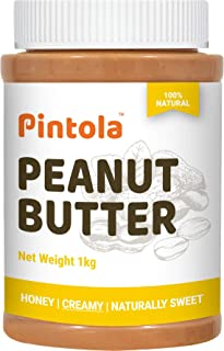 Pintola All Natural Honey Peanut Butter (Creamy) (1kg)