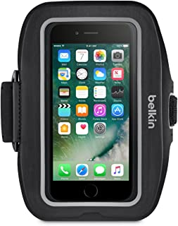 Belkin Sport-Fit Plus Armband for iPhone 7 and iPhone 8 (Blacktop)
