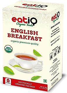 Eatiq Organic Foods Organic Black Tea English Breakfast - 50gm (25 x 2gm)