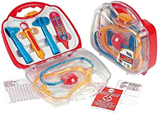 Theo Klein 4465 Rescue Team Max & Dr. Kim Doctor Case Transparent, Toy, Multi-Colored