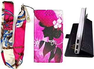 Lovewlb Case for Grid Communications (Sg) Gs6100 Cover Flip PU Leather + Silicone case Fixed SN