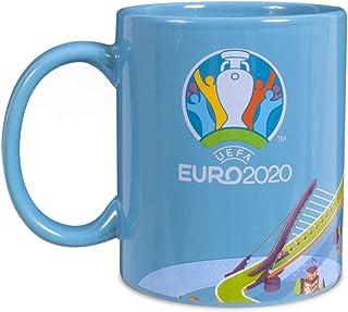 Euro 2020 Unisexmugg, turkos, en storlek