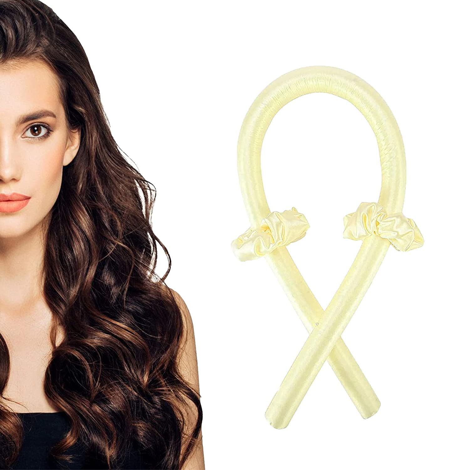 Beccalame Heatless Hair Curlers shipfree for long hair fle headband All items free shipping curls