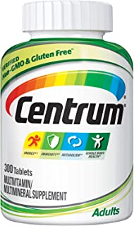 Sponsored Ad - Centrum Adult Multivitamin/Multimineral Supplement with Antioxidants, Zinc and B Vitamins - 300 Count