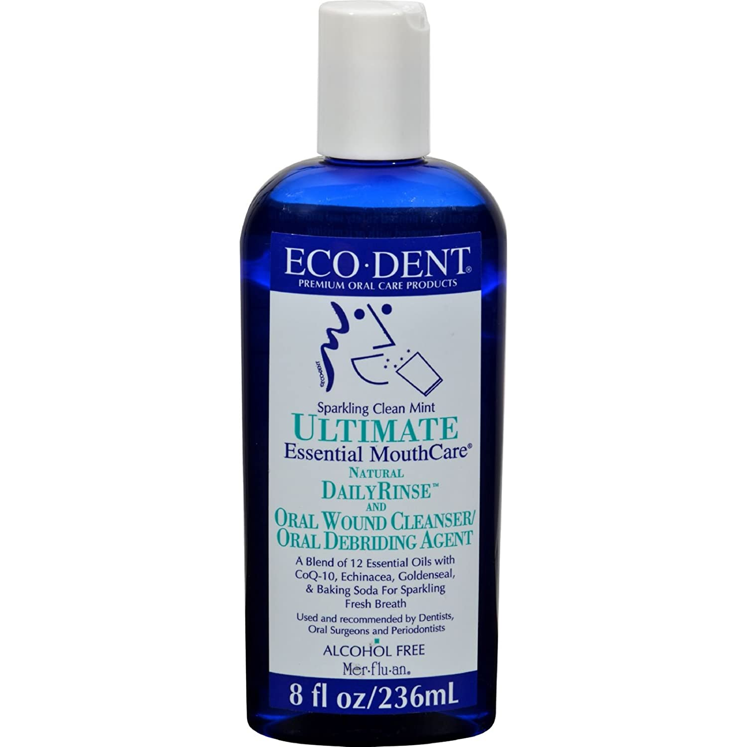 ECO-DENT Special price for a limited time Premium Miami Mall Oral Care Mouthwash Sparkling Rinse Daily Clean