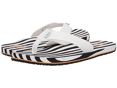 Reef Original Stripes (Black/White) Men