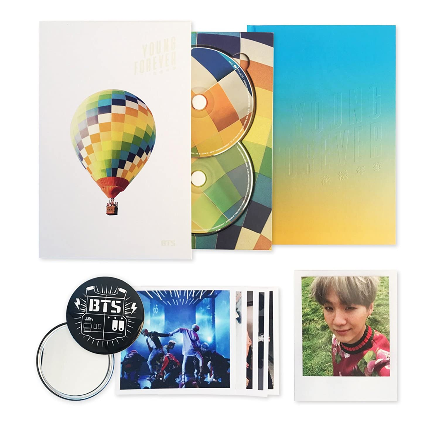 YOUNG FOREVER [ DAY Ver. ] - BTS Special Album CD + Photobook + Polaroid Card + Folded Poster + FREE GIFT