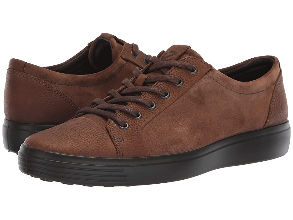 ECCO Soft 7 Casual Tie (Cocoa Brown/Cocoa Brown) Men